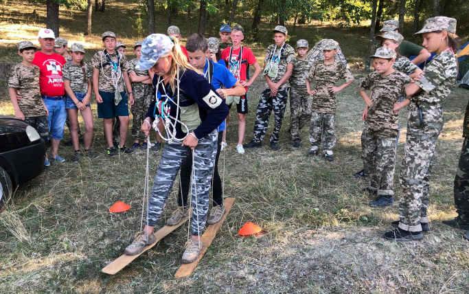 На Смілянщині завершилася військово-патріотична гра юних джур