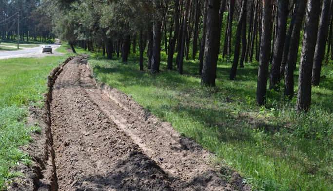 Майже 9 тисяч кілометрів мінералізованих смуг облаштували цьогоріч лісівники Черкащини