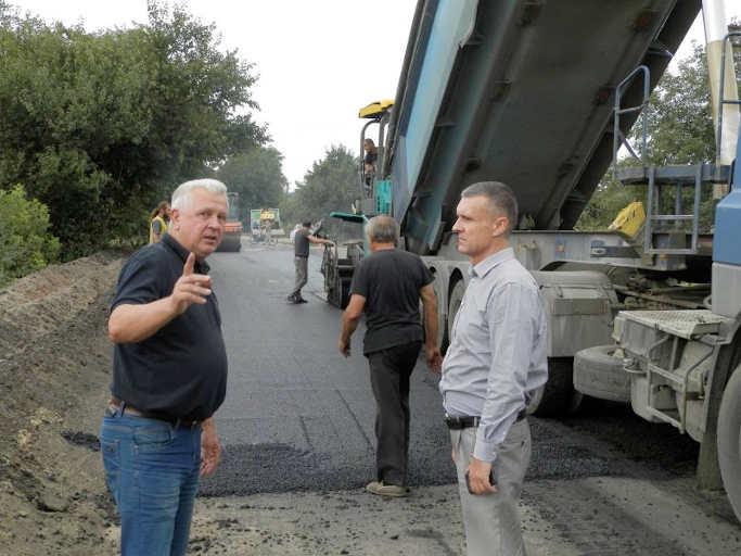 На Городищині відновлюють автодорогу Байбузи-Закревки-Старосілля-Мліїв
