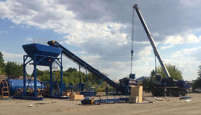 У Ротмістрівській громаді відкривають виробництво, якими буде вимощено дороги  «Великого будівництва»
