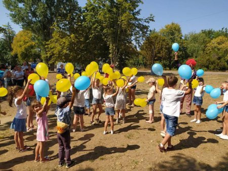До Дня незалежності Балаклеївська громада зробила своїм дітям подарунок
