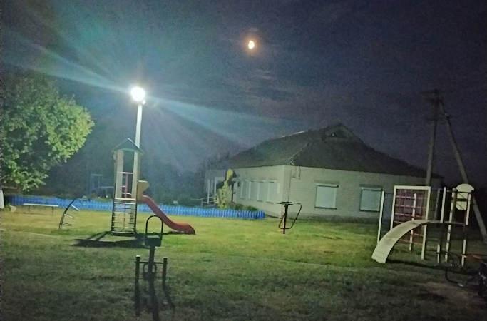 Усього за півтора роки Бобрицька ОТГ вирішила проблему вуличного освітлення у половині сіл громади