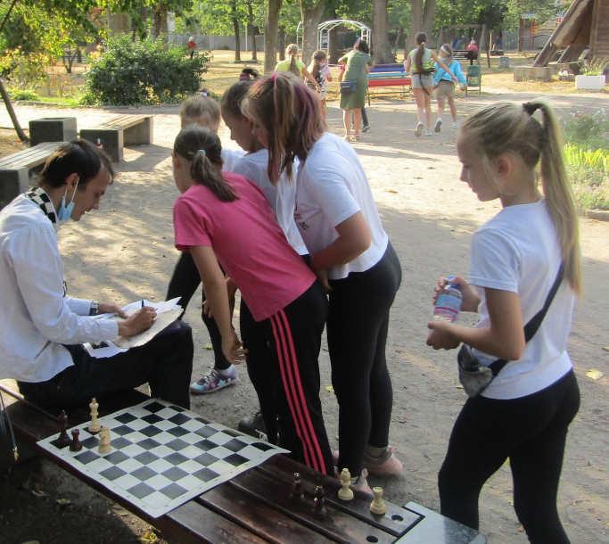 У Черкаському дитячому парку шукали «Козацький скарб» (фото)