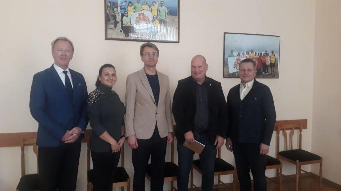 Місія ОБСЄ відвідала Золотоношу