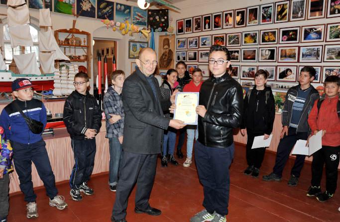 Школяр із Черкаської області став лауреатом престижного національного конкурсу