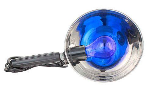 синяя лампа Минина