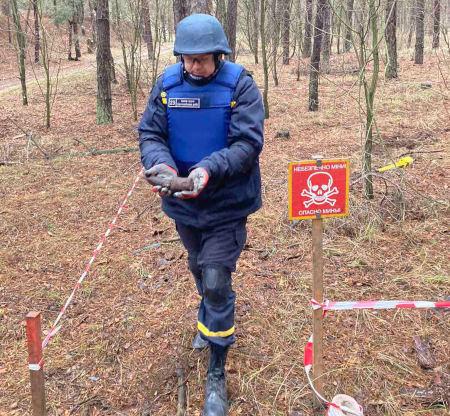 ручна граната РГД-33 часів Другої світової війни, яку в лісовому масиві виявили місцеві жителі села Ліпляве