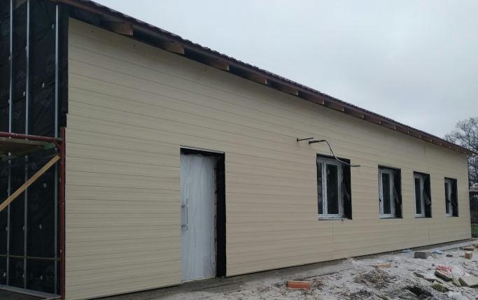 На Чорнобаївщині триває будівництво лікарської амбулаторії загальної практики сімейної медицини в селі Крутьки