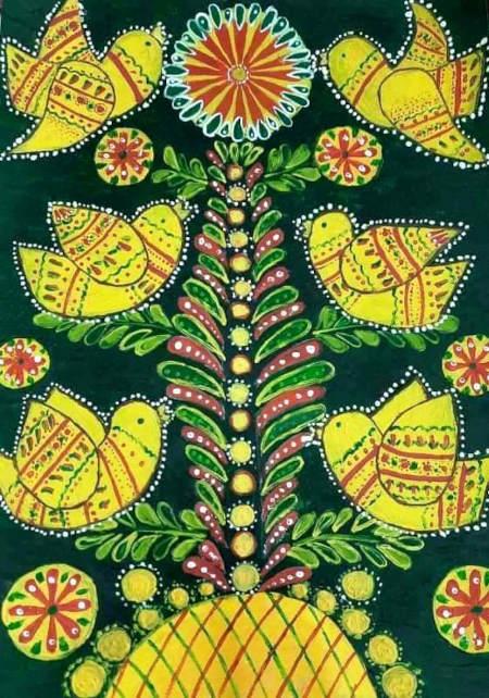 робота з Всеукраїнського конкурсу дитячих малюнків «Щаслива дитина – квітуча Україна»