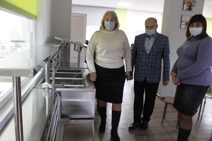 У Родниківській та Бабанській школах оновили харчоблоки