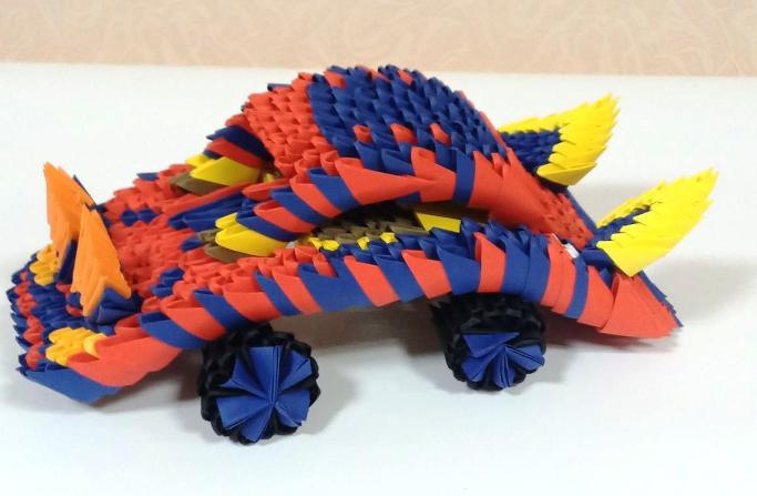 обласна виставка-конкурс «Мистецтво оригамі»