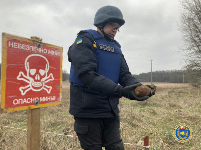 У Звенигородському районі сапери знищили мінометну міну