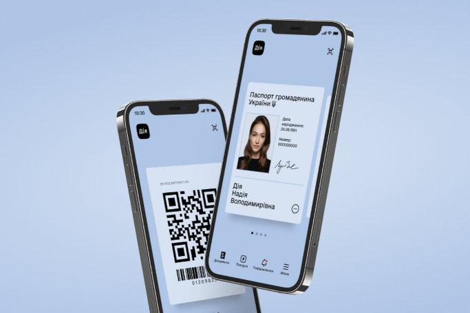 Мінцифри: Україна — перша держава світу, що повністю узаконила цифрові паспорти у смартфоні