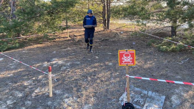 У Городищенському районі рятувальники знищили 11 боєприпасів, у Черкаському – два