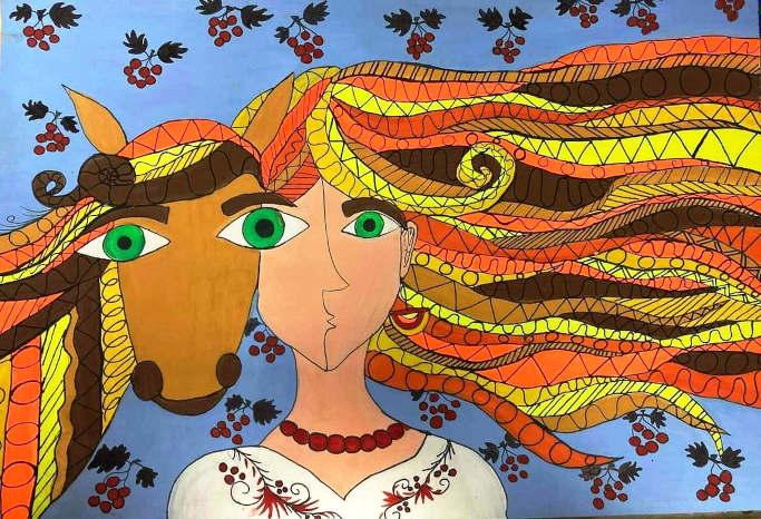 «Приз Канагави» здобули у Міжнародному конкурсі дитячого малюнку-бієнале Марія Бодашко та Катерина Дахненко
