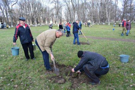 У Чигирині оновлюють історичний парк-пам'ятку, яка пам'ятає Шевченка і Лесю Українку