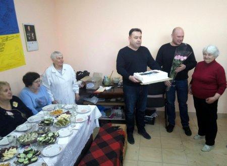 У Черкасах відсвяткувала своє 80-річчя одна із найстарших волонтерок