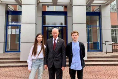 Два студенти Черкаського державного бізнес-коледжу отримали гранти від Держдепартаменту США