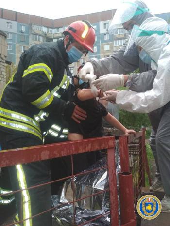 У Черкасах рятувальники надали допомогу 9 річному хлопчику