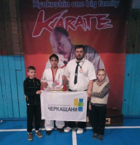 Золотоніські спортсмени у Херсоні стали призерами чемпіонату України з кіокушин карате
