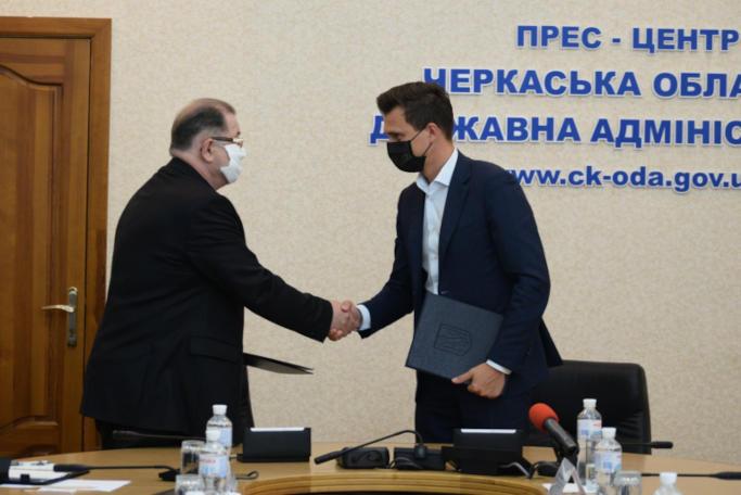 Черкаська ОДА підписала екомеморандум з «Екоцентр МБО-Т»