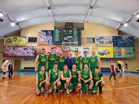 Смілянські баскетболісти стали чемпіонами дивізіону