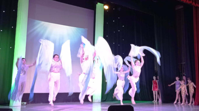 Творчий звіт – хореографічна вистава «Нові пригоди Аріель» вихованців Народного художнього колективу «Театр танцю «ТАІР» позашкільного навчального...