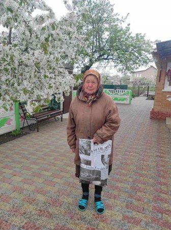 У Червонослобідській громаді уже привітали до Дня Перемоги 4 ветеранів та 20 та вдів воїнів-визволителів