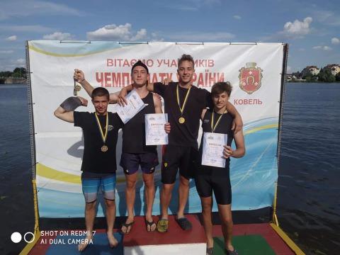 Смілянські веслувальники стали чемпіонами України