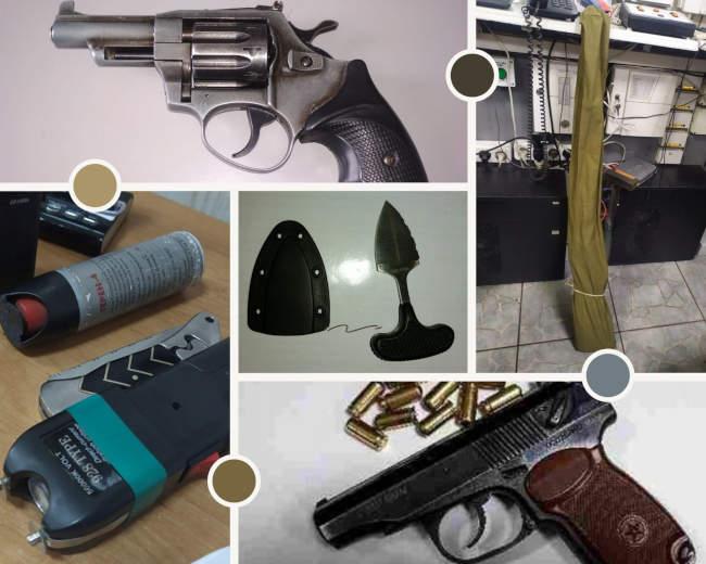 У суди Черкаської області намагалися пронести револьвер та мисливську рушницю (фото)