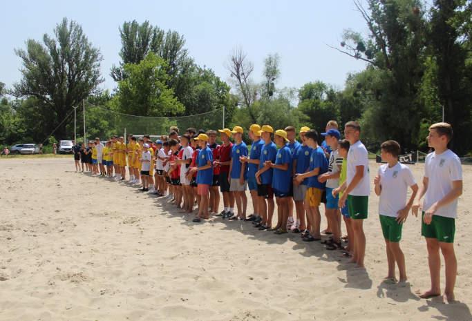 У Смілі розпочато чемпіонат України з пляжного футболу