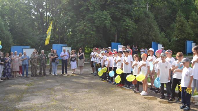 У Монастирищенській громаді проходить військово-патріотичний вишкільний табір «Гарт-2021»