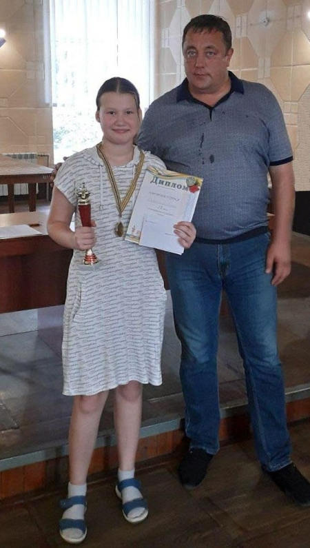 Юна черкащанка виборола перше місце серед жінок на Всеукраїнському шаховому турнірі