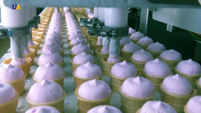 В Україні на 3% виросло виробництво морозива