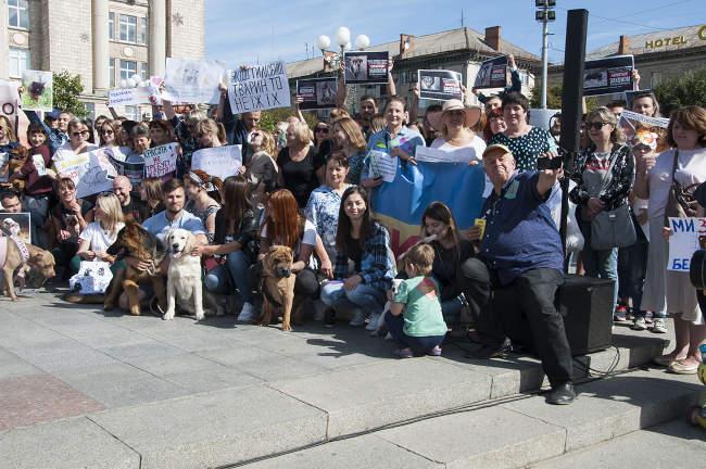 У Черкасах пройде Всеукраїнський марш за тварин