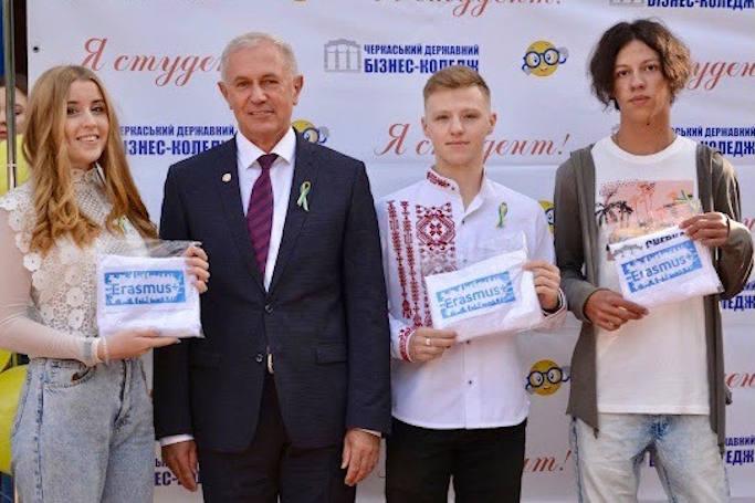Троє черкаських студентів перемогли у Програмі академічних обмінів та поїхали навчатись до Європи