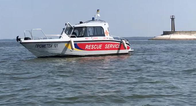 У Черкасах водолази ДСНС врятували двох рибалок