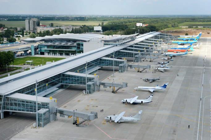 Держприкордонслужба: Кількість осіб, що перетнули кордон літаками зросла на 45 відсотків