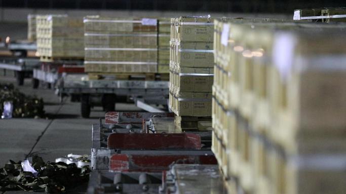Друга партія вантажу від Уряду США надійшла в Україну