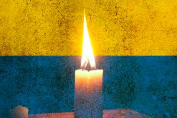 У Монастирищі відкрито меморіальну дошку Герою Віталію Шамраю